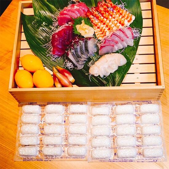 【おうちにぎり寿司】定番特上にぎりセット(冷凍しゃり玉付き)