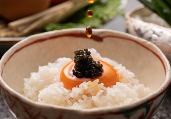 旬房特製 新米の極上卵かけご飯