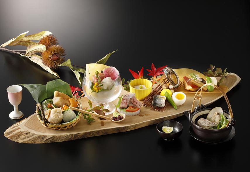昼膳「箱根強羅 秋の庭」