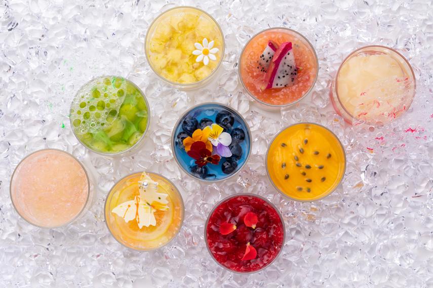 9種類のグラススイーツ