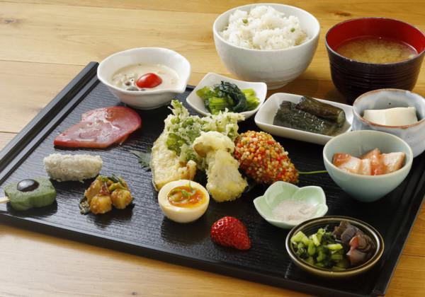 みのる食堂 高島屋京都店メニュー例