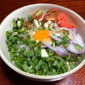 野菜たっぷり混ぜ麺