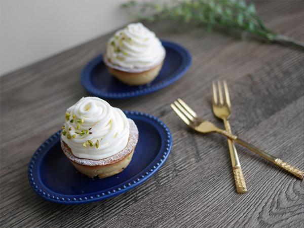 チーズクリームのモンブラン風タルト