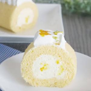 甘夏のチーズクリームロール