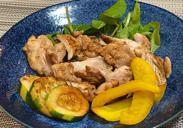 鶏もも肉の塩レモン焼きの画像