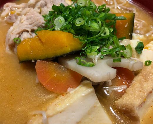 野菜たっぷり具沢山韓国風豚汁の画像