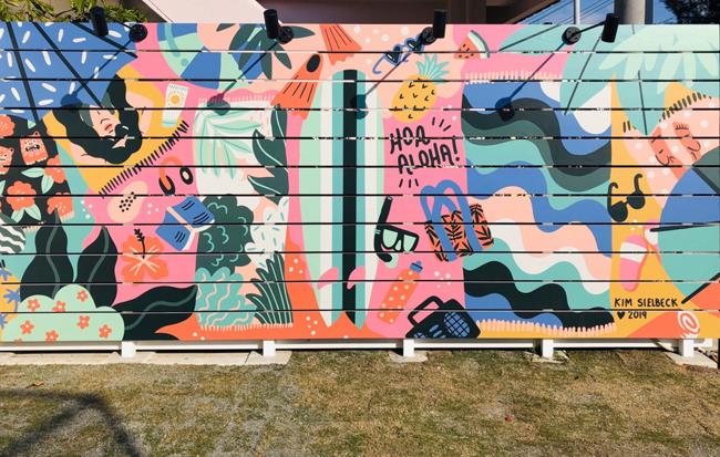 外壁アートワーク