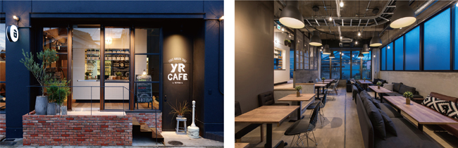 YR CAFE by恵比寿楽園テーブル[愛知県犬山市]
