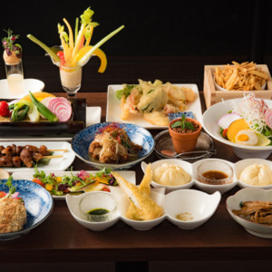 ヴィーガンレストラン「菜道」の料理1