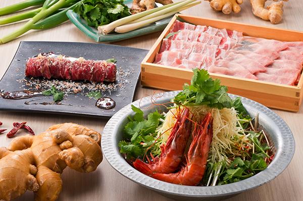 タイ料理 「ダオタイ」× 和食料理「生姜屋 黒兵衛」コラボメニュー