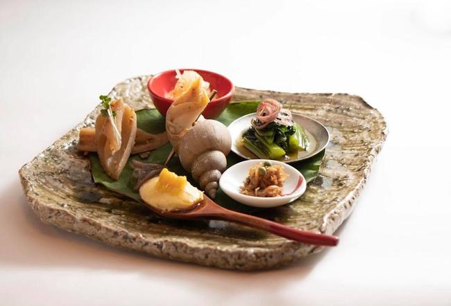 銀座魚勝の料理2
