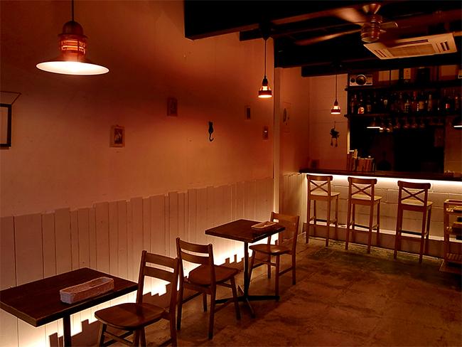Dining Bar Arraysの店内
