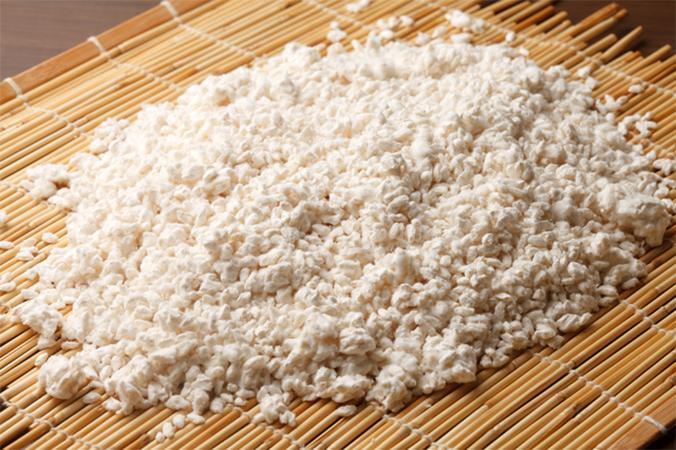3種類の米糀に段階的に酵素を添加