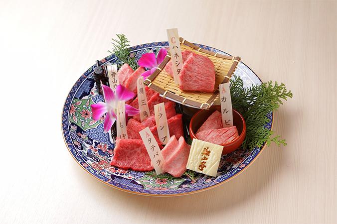 神楽坂 翔山亭の肉