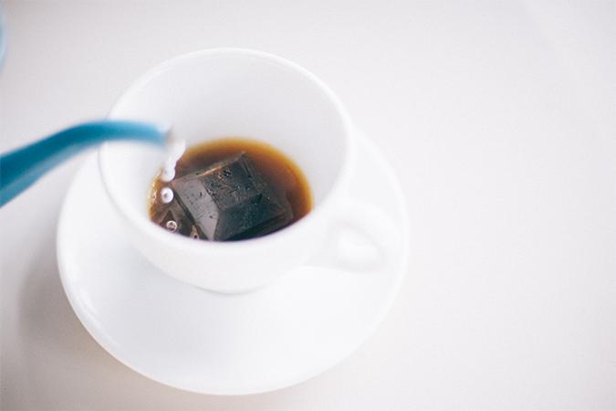 新コーヒー体験「エスプレッソキューブ」