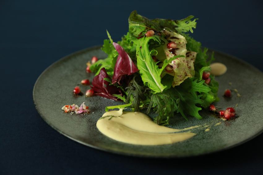 農園野菜のグリーンサラダ(洋食・前菜)