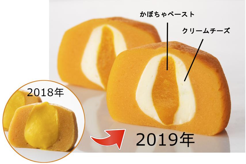 かぼちゃのチーズボールの進化