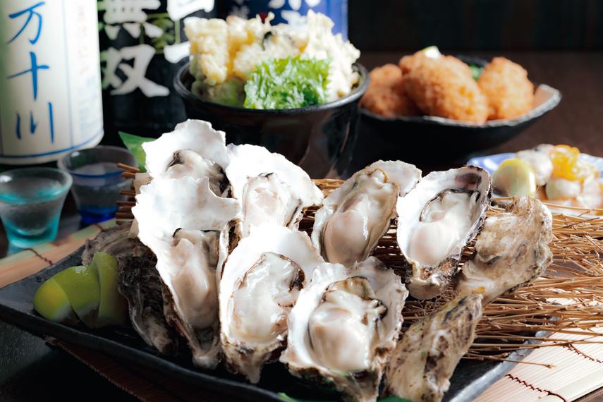 【生かき付】4種の牡蠣料理食べ放題