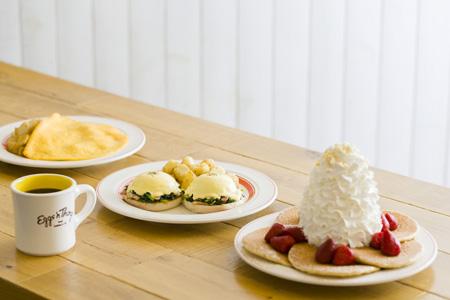 Eggs 'n Thingsのパンケーキ
