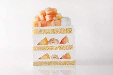 芸術的なショートケーキ