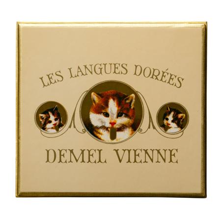 ソリッドチョコ 猫ラベル キャラメル パッケージ