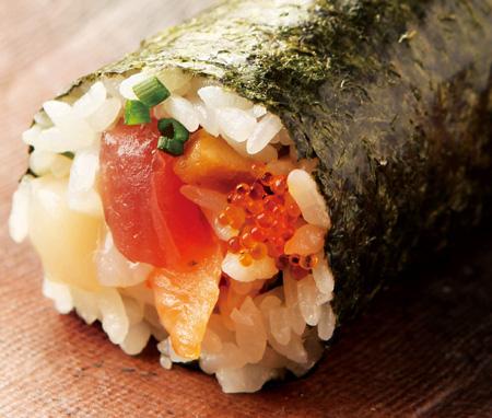 海鮮 丸かぶり寿司