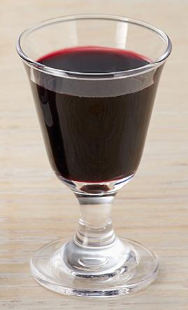 ミヤジマ紫黒米酢グラス