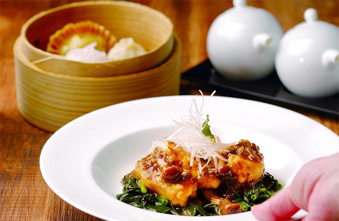 白身魚と高菜の煮込み 腐乳風味