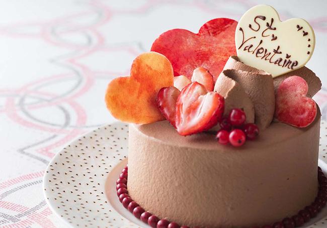バレンタイン ショコラケーキ