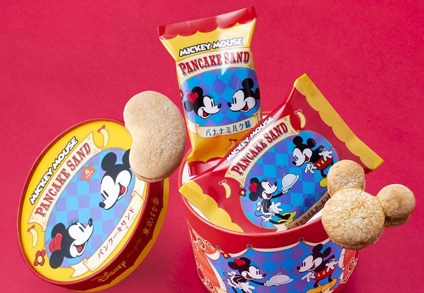 ミッキーマウス/パンケーキサンド