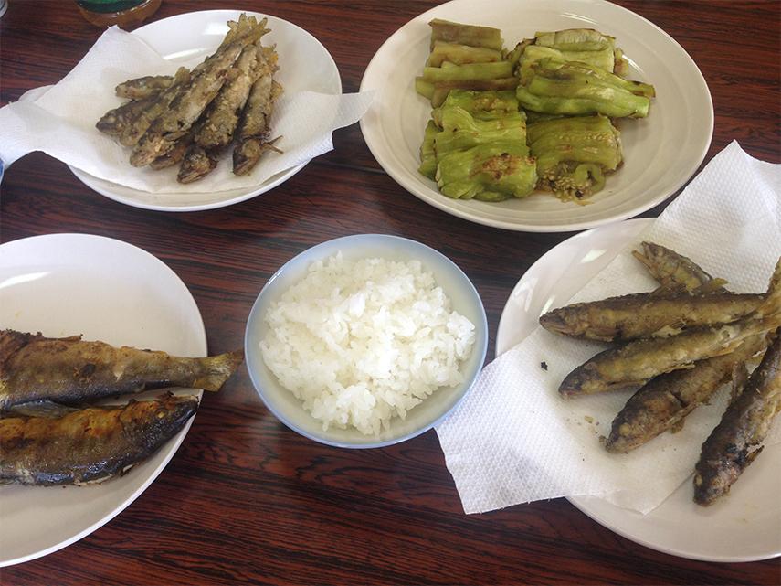 鳥取県の産地のお昼ごはん