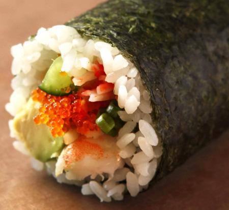 海老・アボカド丸かぶり寿司