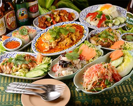 タイ屋台料理 「ダオタイ」