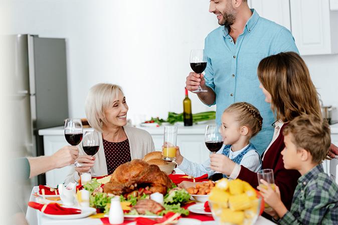 大切な家族との食事のお供に