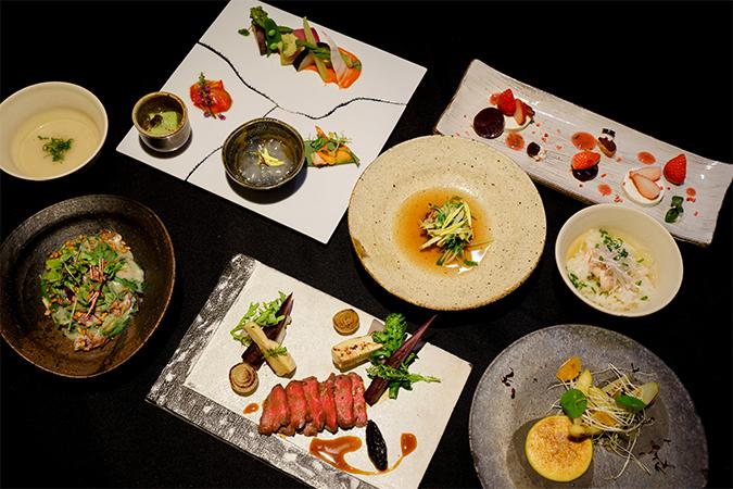 レストラン『倭 西麻布』の料理