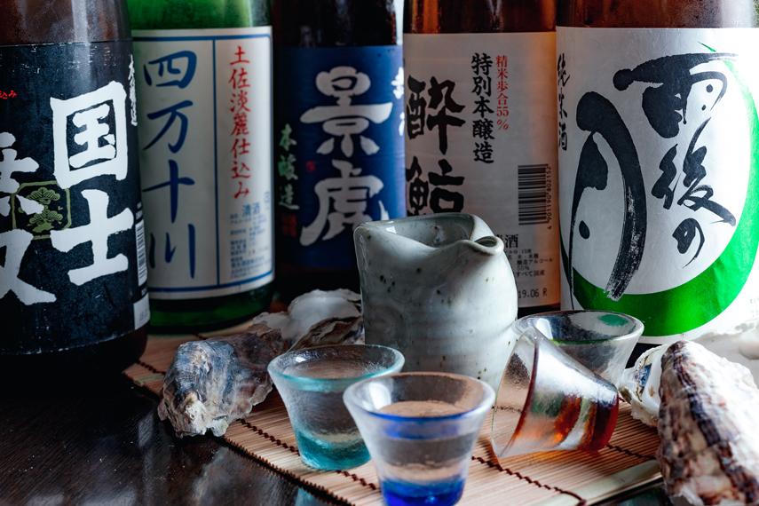 生かき付】4種の牡蠣料理食べ放題&日本酒付き飲み放題