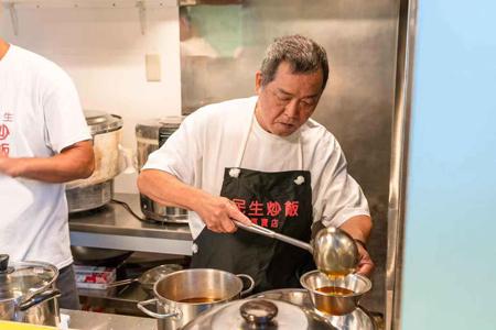 民生炒飯のチャーハン