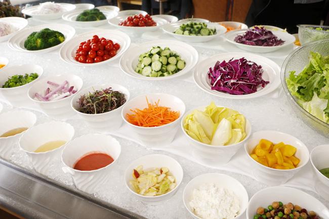 健康野菜のサラダバー