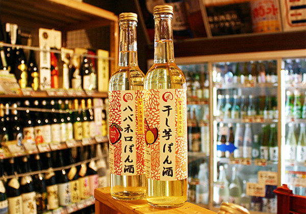「炙干し芋ぽん酒」と「激ハバネロぽん酒」