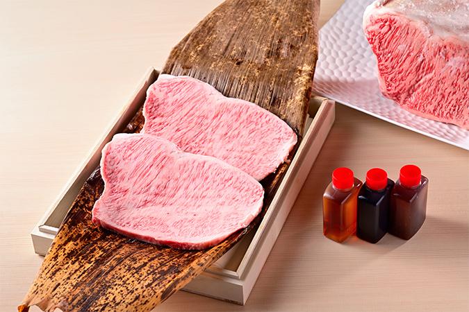 黒毛和牛特選プラン「粋(いき)」ステーキ