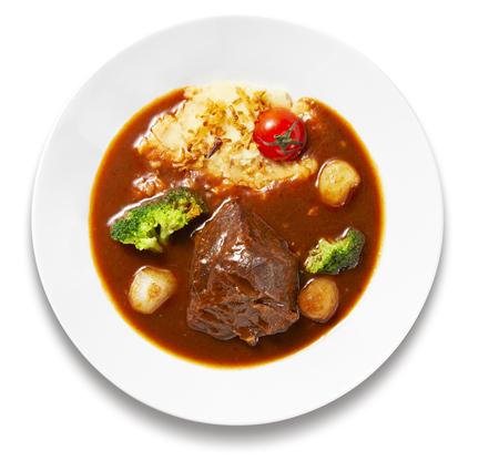牛ほほ肉のシチュー 赤ワイン煮込み