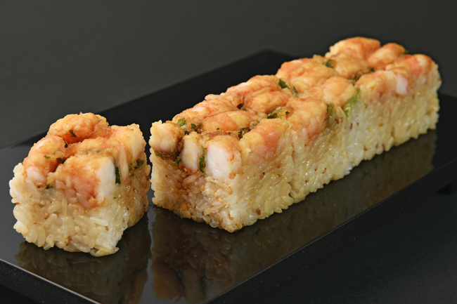 海老天押し寿司