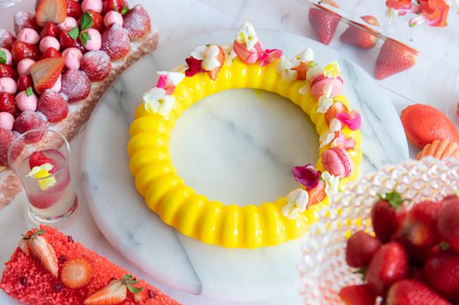 ラプンツェルのリングケーキ ハニーシトラスクリーム