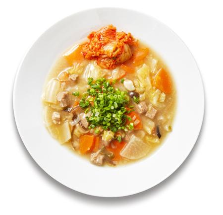 牛テールのピリ辛雑穀スープ