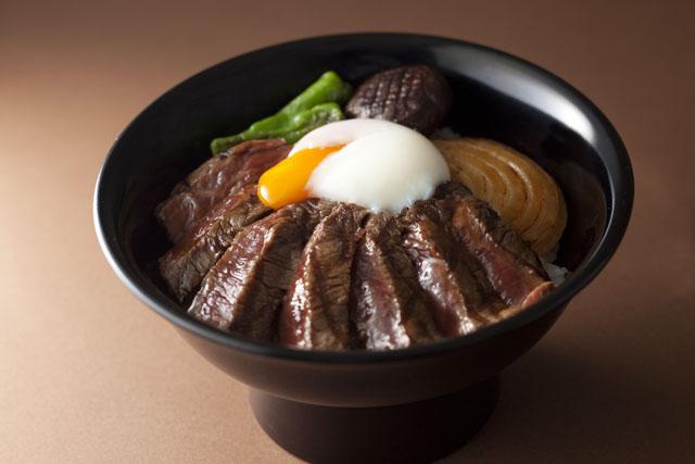 尾崎牛のJシリアルビフテキ丼