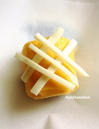 パイナップルみたいな卵焼き